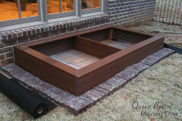 Frame It All 4x8 Composite Raised Garden Bed Plastic
