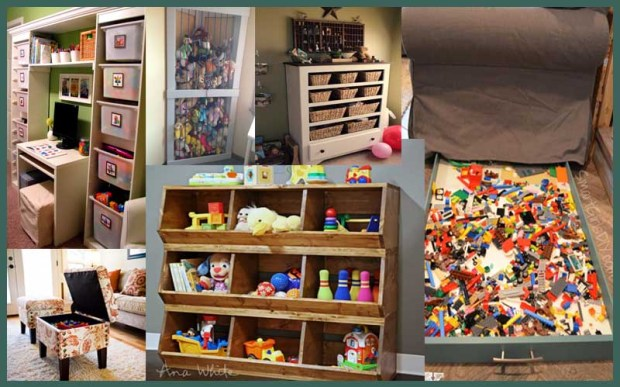 Kid's Storage Ideas