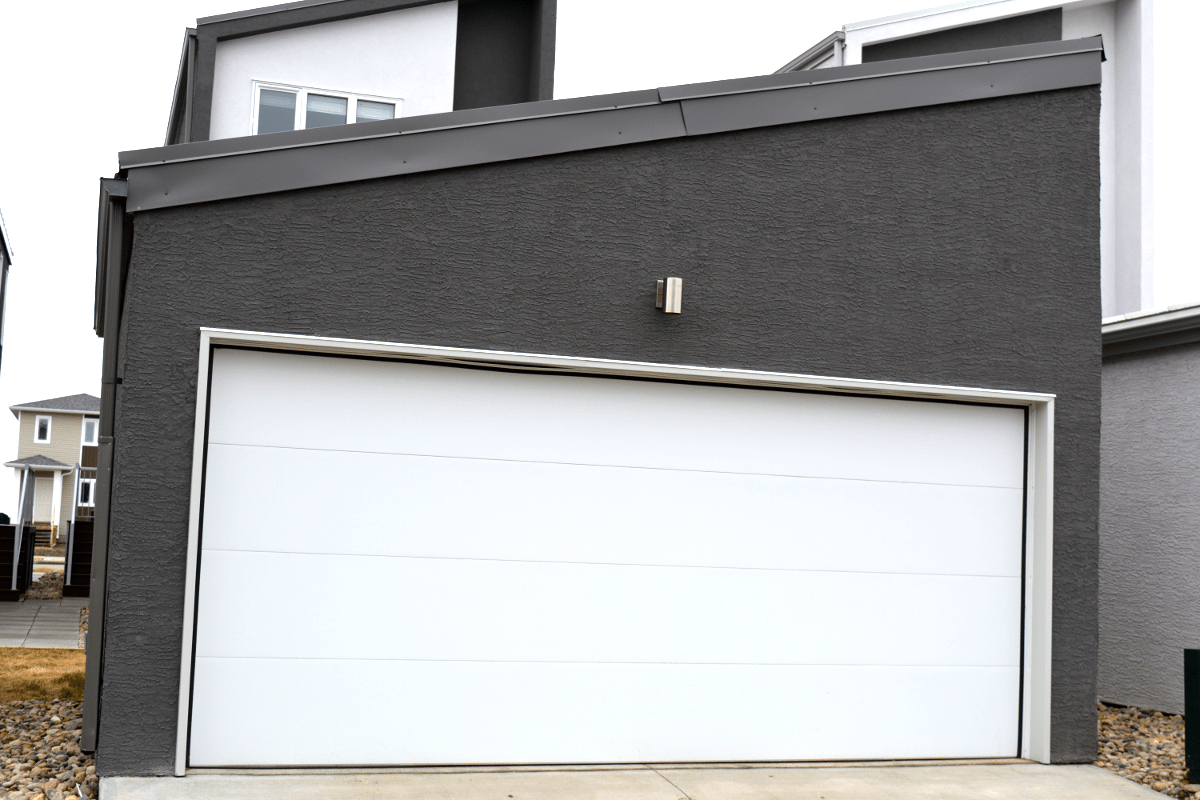 Flush Panel Garage Doors Queen City Overhead Door