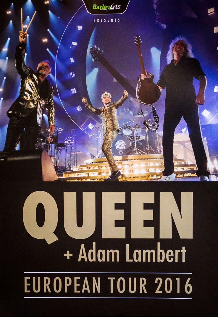 concert queen adam lambert live at