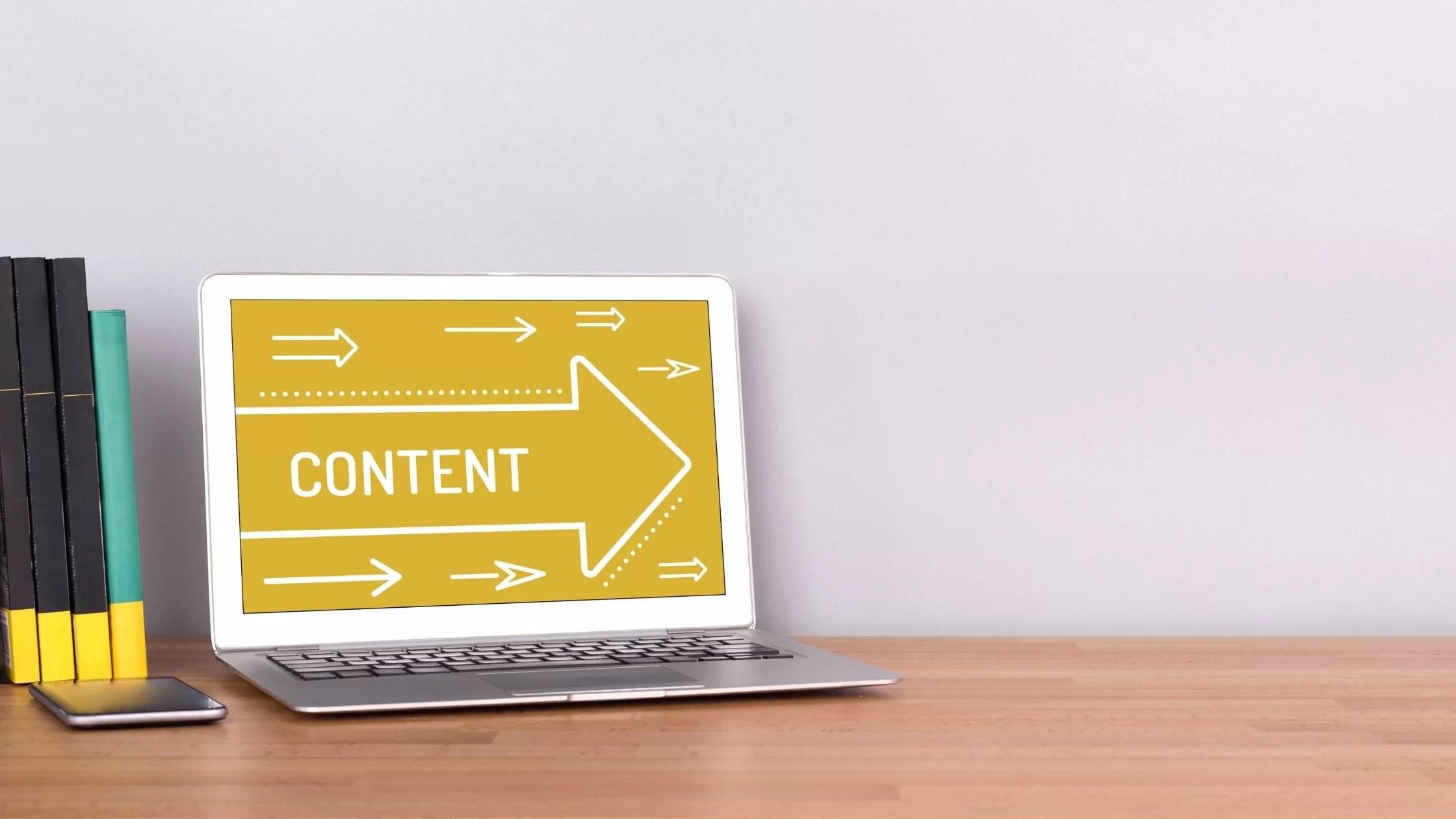 La giusta strategia per il content marketing? Concentrarsi sui valori dei contenuti.