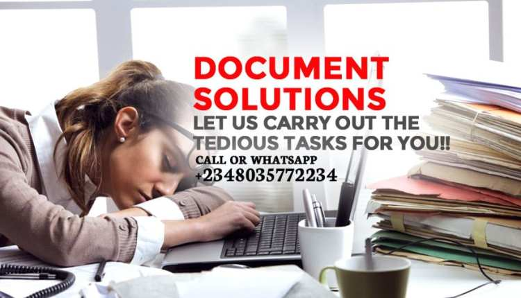Document Solutions Let Us Carry Out The Tedious Tasks For You 1