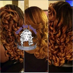 Colored and Curled