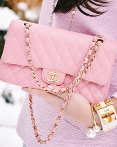 Pink CHANEL Flap Bag