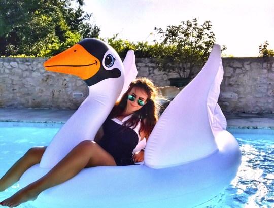 Floaty and I