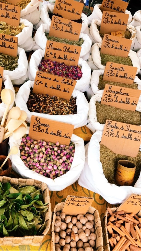 Spice Stand on Market Day