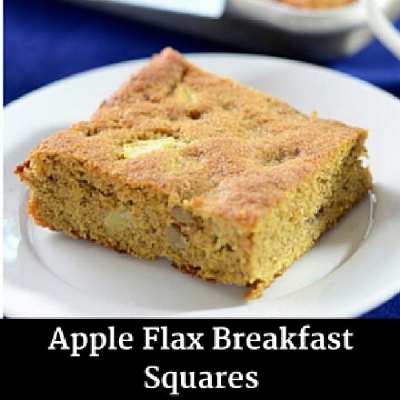 Apple Flax Breakfast Squares