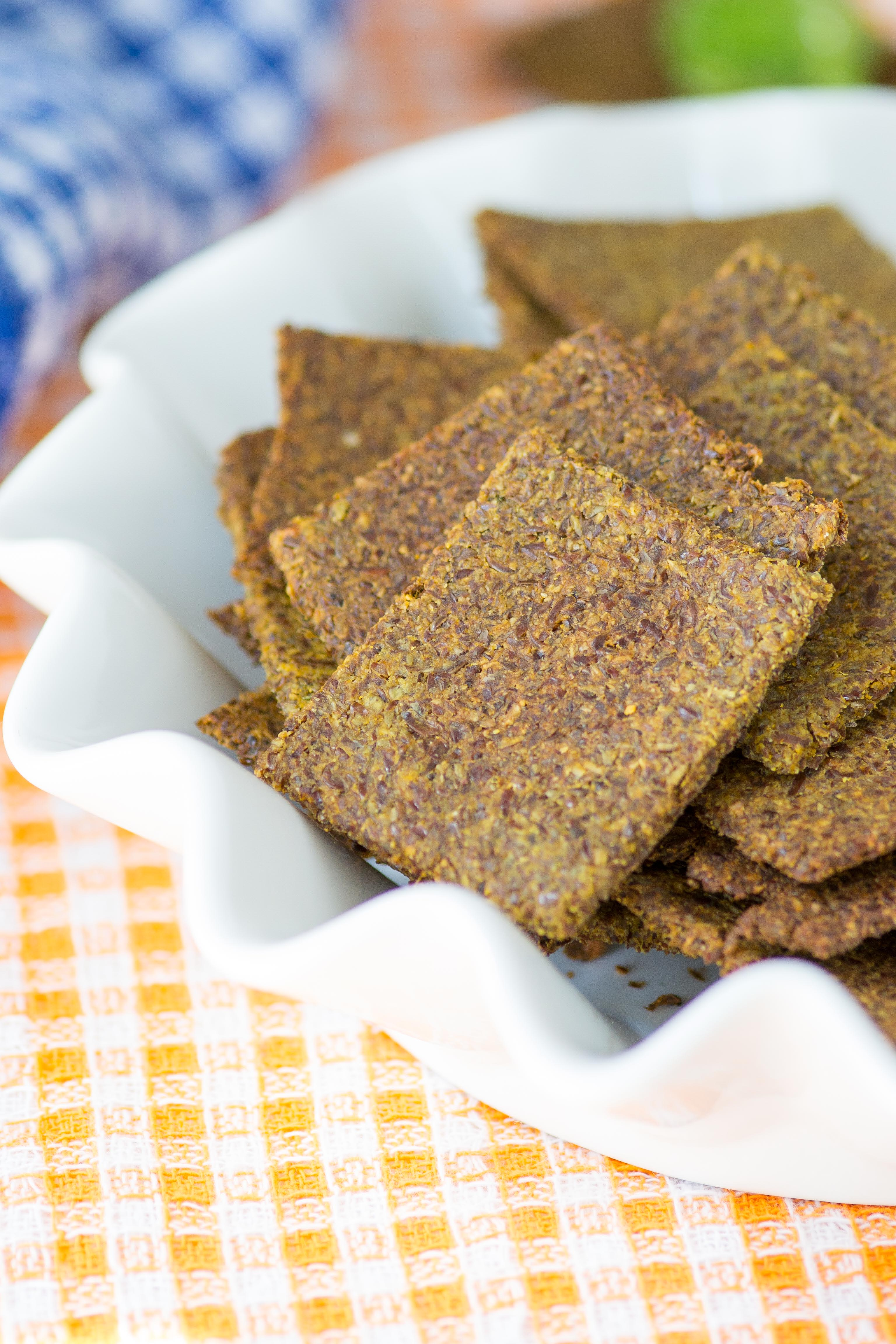 Sweet potato flax crackers queen of my kitchen sweet potato flax crackers are gluten free grain free dairy free solutioingenieria Gallery