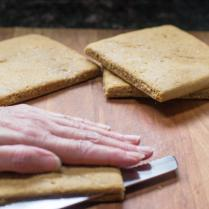 Almond Flour Flatbread Sandwiches #AD - 3 variations, all gluten-free with vegan and non-dairy options. Easy flatbread recipe. Bakes in 20 minutes. | QueenofMyKitchen.com