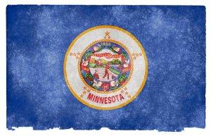Minnesota grunge flag