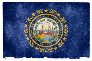 New Hampshire grunge flag
