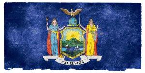 New York grunge flag