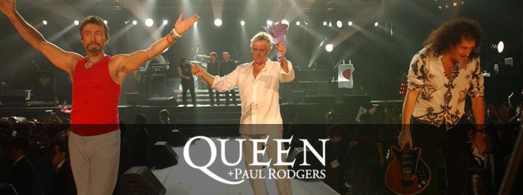 Hasil gambar untuk Queen + Paul Rodgers concert GIF