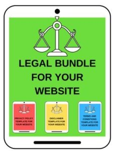 legal bundle for your blog - queensdomania.com