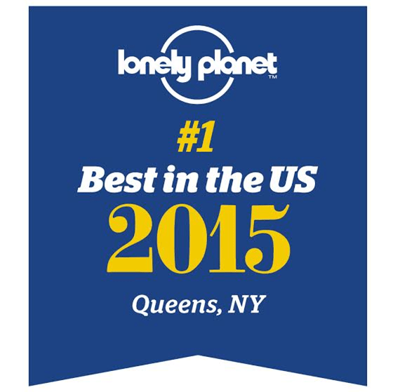 Queens Lonely Planet #1 Destination