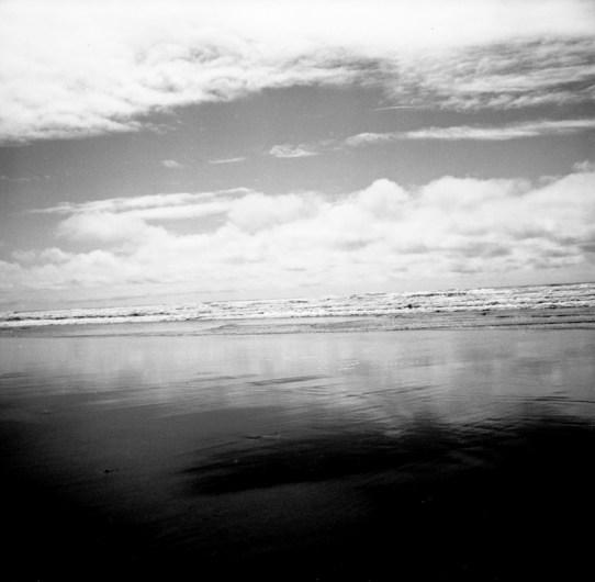 """Horizon,' Long Beach, WA, Gelatin Silver Print by Mary Teresa Giancoli"