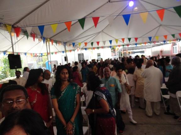 Attendees at the Shri Surya Narayan