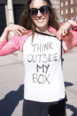 think outside my box