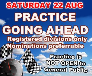 22ND OF AUGUST PRACTICE IS SET TO GO !!