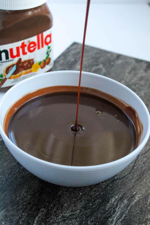 how to make chocolate nutella ganache
