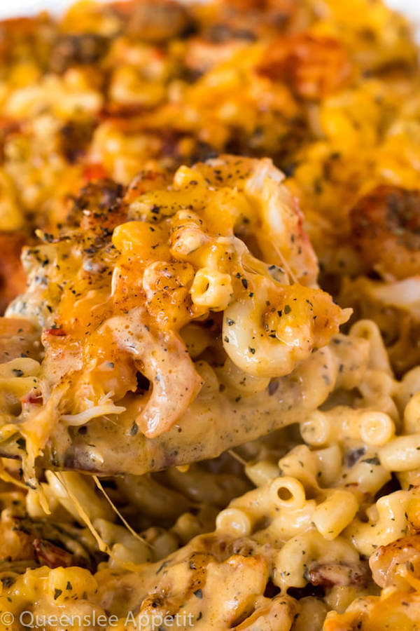 Cajun Shrimp And Crab Mac And Cheese By Queenslee App C A Tit in addition Image Full in addition Baked Penne Spinach Ricotta Fontina X together with Mac N Cheese Pretzels further Mac N Cheese Stuffed Chicken Schnitzel Roll Ups. on macaroni salad recipe with cheese