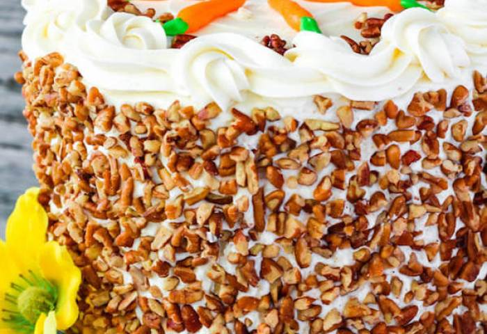 Perfect Carrot Cake With Cream Cheese Frosting Queenslee Appétit