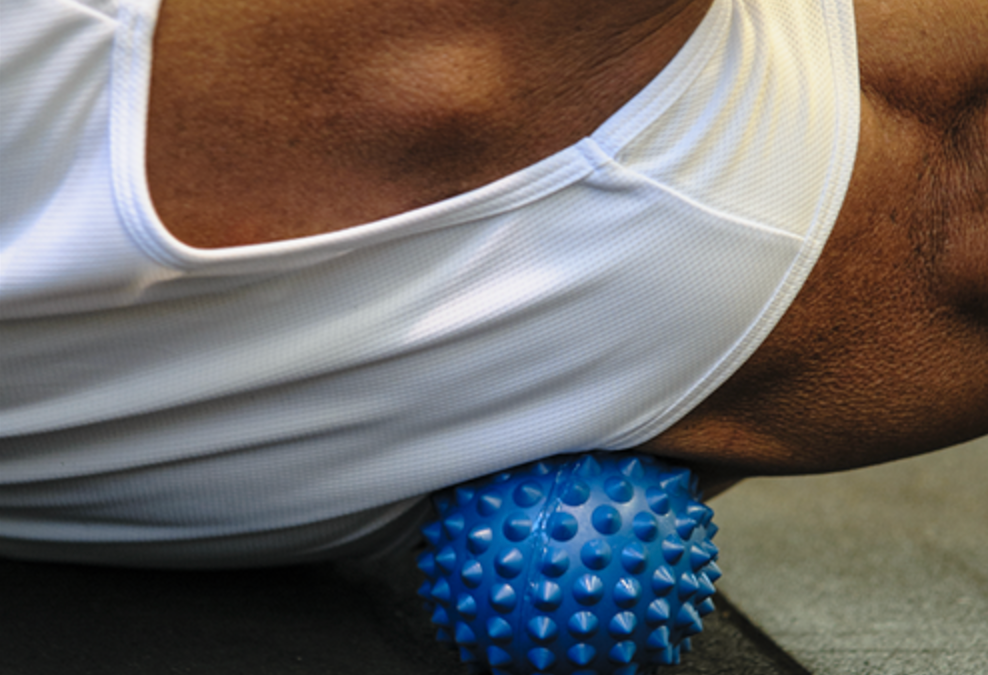 How to use a Spikey Ball for massage.