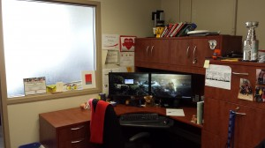 My desk: Where the science happens!