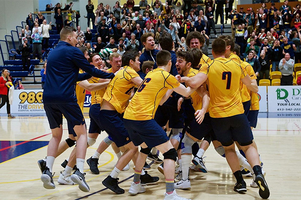 Men's hockey, volleyball teams advance to OUA finals ...