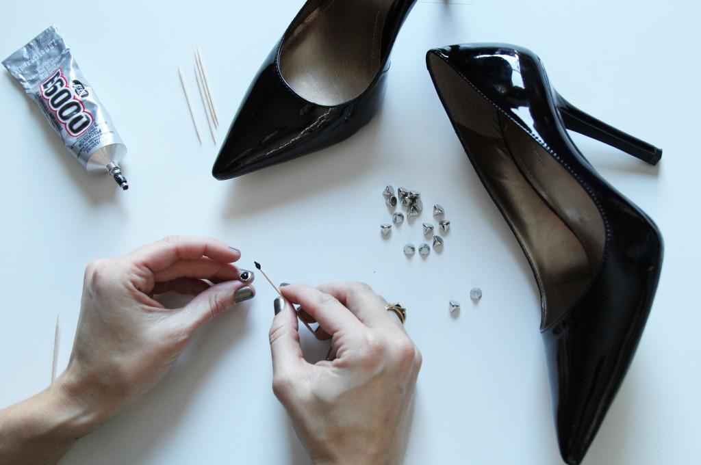 Spike Glue Heels