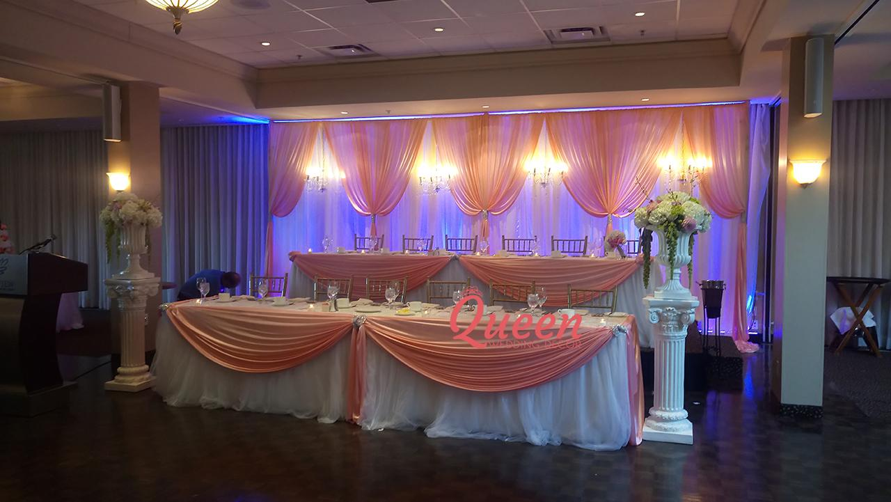 Bayview Golf Amp Country Club Queen Wedding Decor