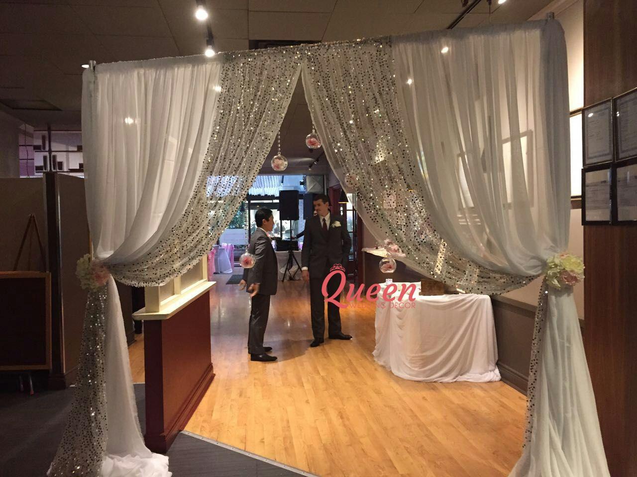The Hot House Restaurant Queen Wedding Decor