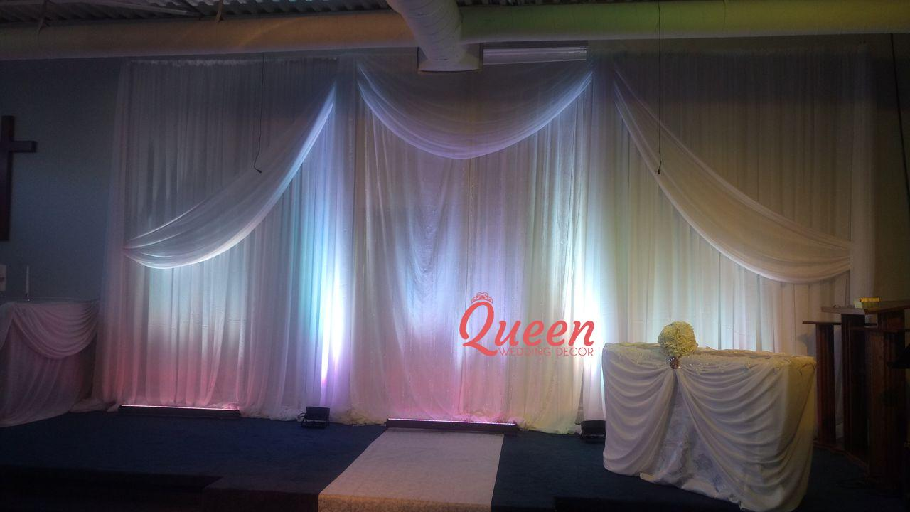 Abundant Life Church Of God Queen Wedding Decor