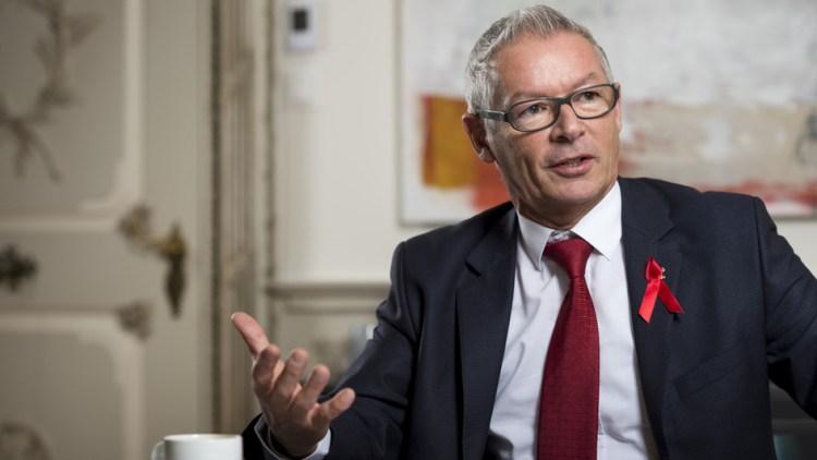 Martin Klöti, Regierungsrat Kanton St. Gallen, Präsident Aids-Hilfe-Schweiz