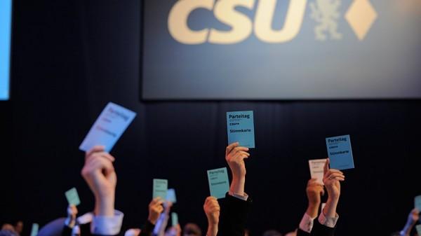 Das neue Grundsatzprogramm der Christlich-Sozialen Union wurde am Samstag in München einstimmig verabschiedet (Bild: CSU)