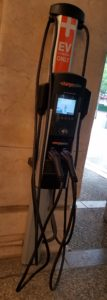 No matter how you arrive, you will be treated well. Langham British Hotel even has an EV Charger.