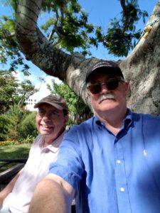 Queer4Travel hosts Bill and Dave who have been a couple for more than 30 years.