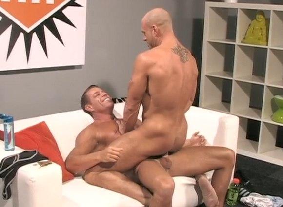 muscular gay porn star Tyler Saint Fucks Coby Mitchell