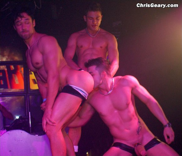 At on hustlaball anal sex stage