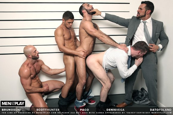 Bruno Boni Dato Foland Denis Vega Paco Scott Hunter Orgy