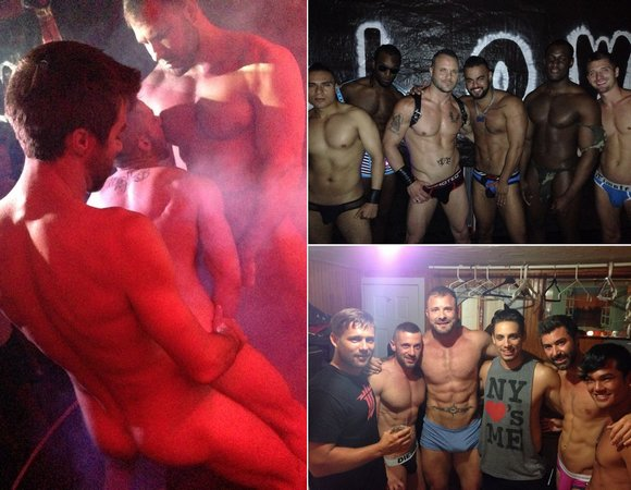 Gay Porn Stars Blow Fire Island