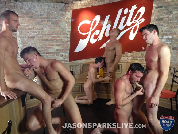 Gay orgy today i was following up with