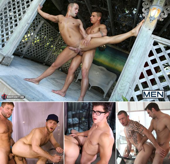 Brent Everett Luke Adams Deviant Otter Will Braun Richard Pierce