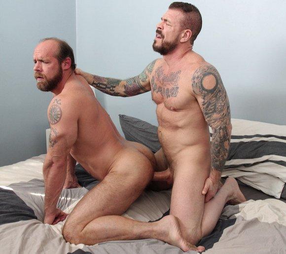 Jake Deckard Rocco Steele Bareback Gay Porn