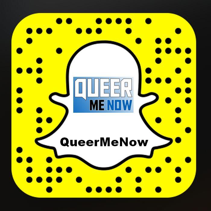 QueerMeNow Snapchat SnapCode