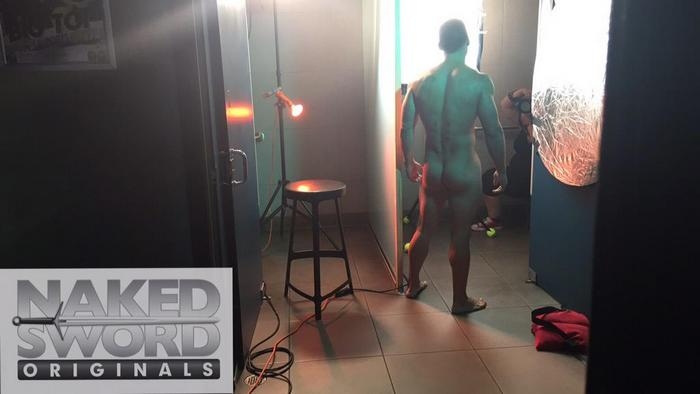Topher DiMaggio Bray Love Nakedsword FameGame BTS 4