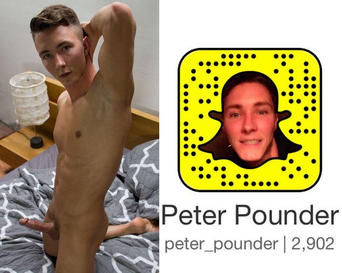 Peter Pounder Gay Porn Star Snapchat Snapcode