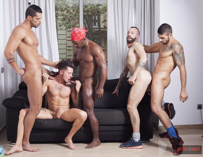 Fuckermate Gay Porn Orgy Max Toro Angel Garcia Troy Moreno Ehrick Ortega Lucas Fox