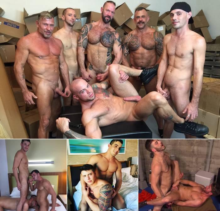 Gay Porn Star Sean Duran Jacob Taylor Scotty Marx Tommy Defendi