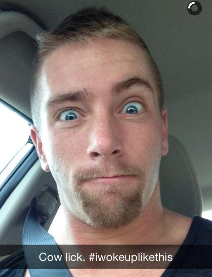 Scott Riley Gay Porn Star Goatee Blue Eyes Snapchat 2